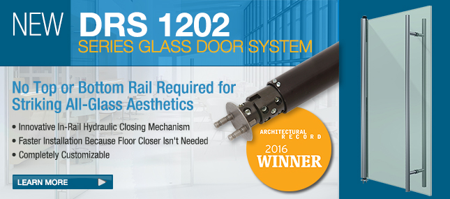 DRS 1202 Series <br> &nbsp;&nbsp;&nbsp;Glass Door System