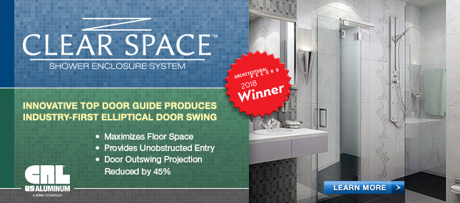 Clear Space<br>&nbsp;&nbsp;&nbsp;Shower Enclosure System