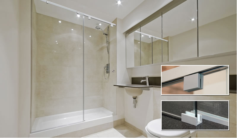 Crl Debuts Cabo Soft Slide Frameless Shower Door Systems With