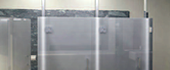 'All-Glass'  Restroom Partition System