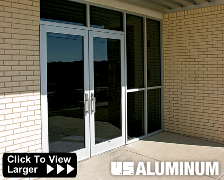united states aluminum entrances 650 t high performance