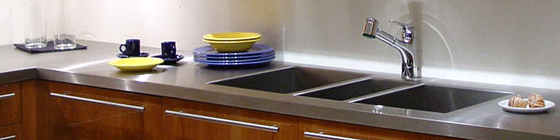 Tajima S Stainless Steel Countertops Are Made By Utilizing